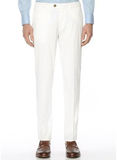 Canali Chino Pantolon Beyaz